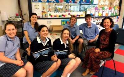 Year 12 students celebrate 13 years of learning at NBCS