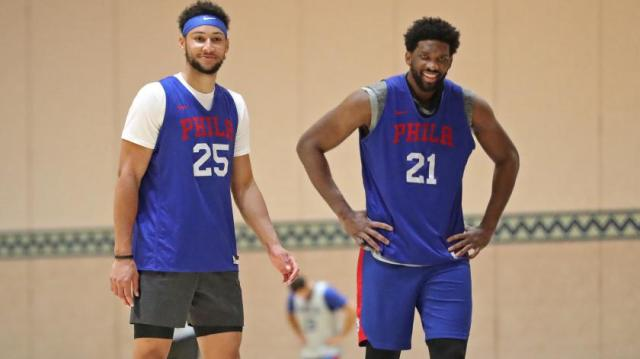 Enjoy the ride as Joel Embiid, Ben Simmons enter their primes | RSN