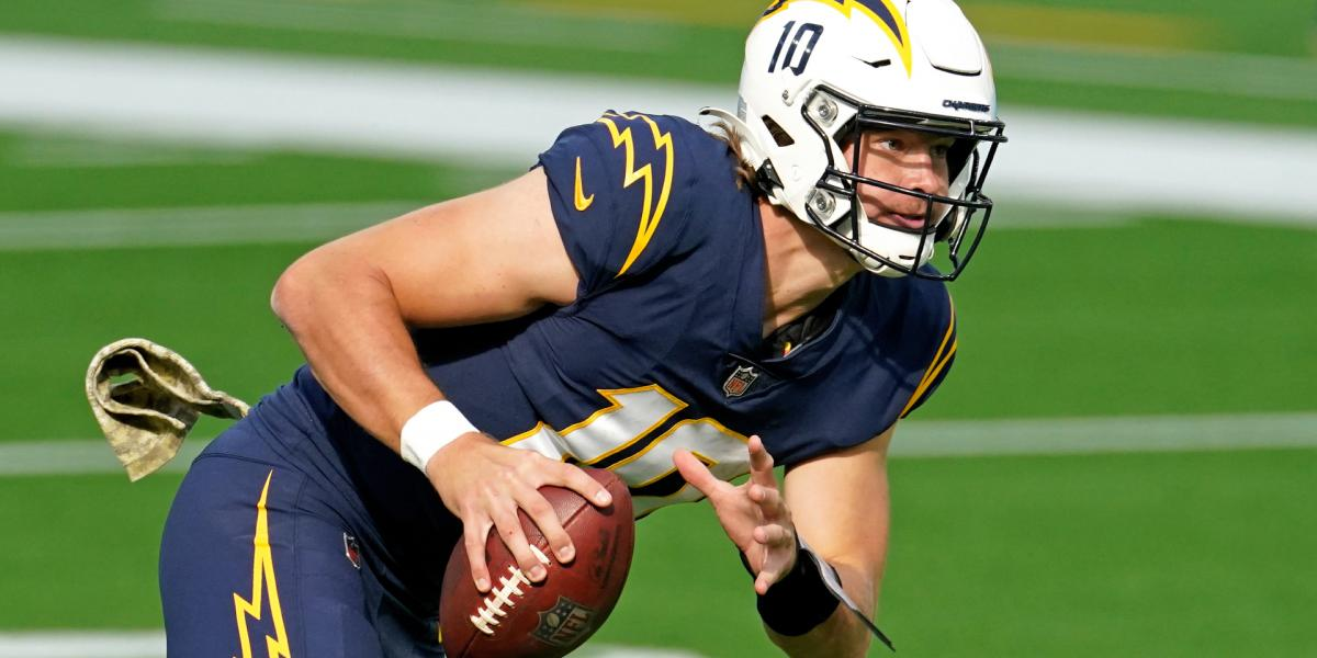 I cant even rip the haircut. Twitter went crazy when it saw Chargers QB Justin Herbert ...
