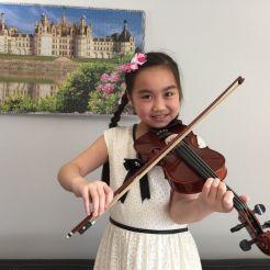 Zige (Alle) Lin Violin - Preparatory Received Gold Seals