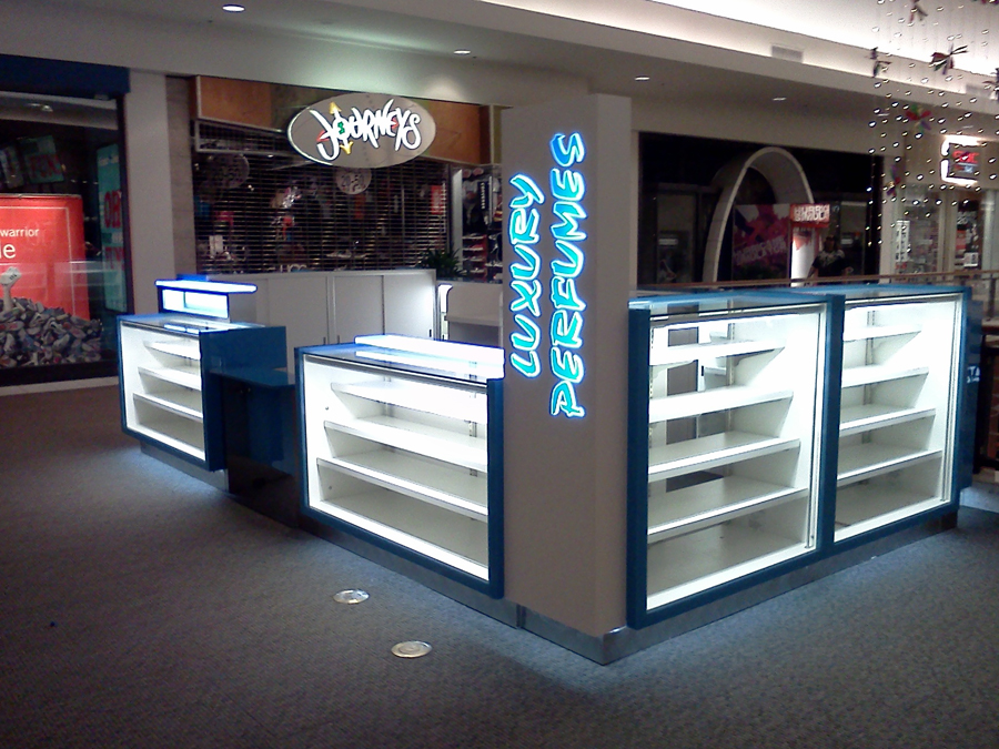 Perfume Kiosk Displays And Retail Store Mall Displays For