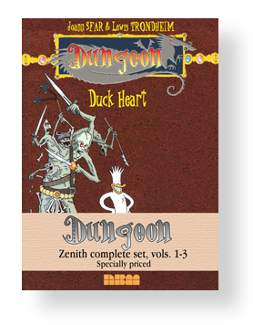 Dungeon Zenith set Volumes 1-3