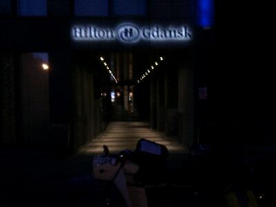 Unsere Unterkunft in Danzig
