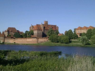 Beeindruckend die Marienburg