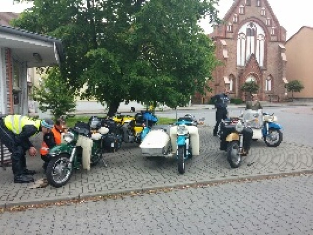 Zwischenstop Marktplatz Prenzlau
