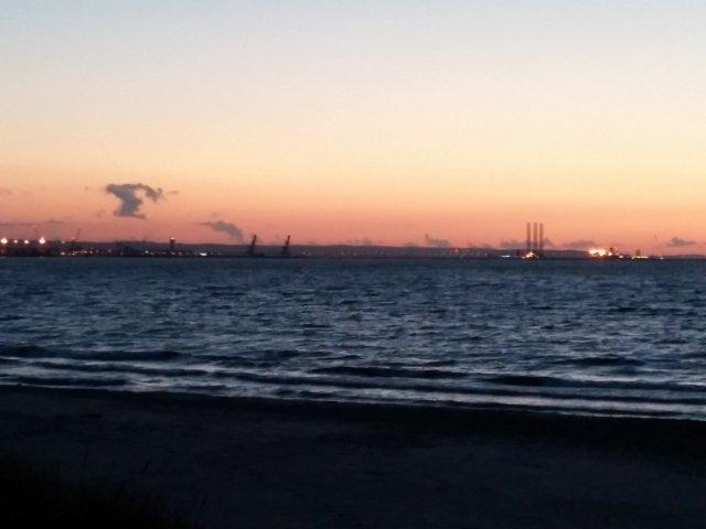 Abendliche Impression Danziger Bucht