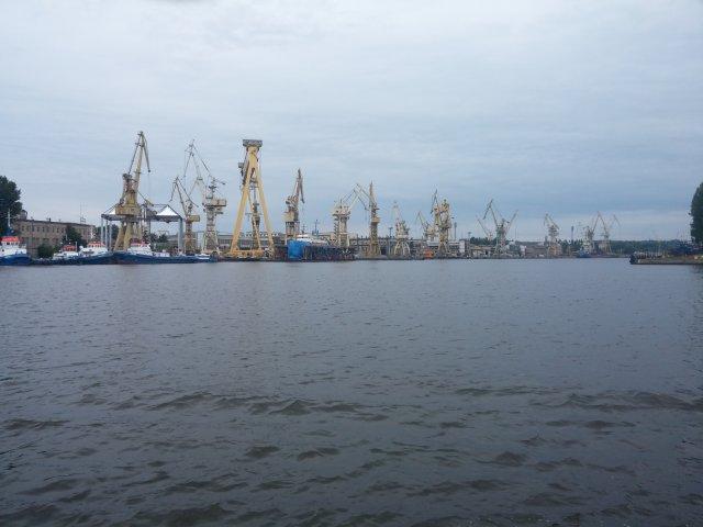 Stettiner Hafen Ansicht