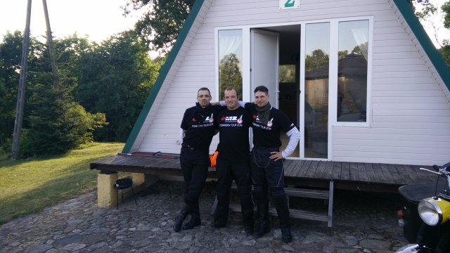 Unsere Finnhütte für die nächsten 3 Tage