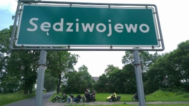 Ortseingang Sedziwojewo
