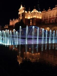 Springbrunnen auf dem Markplatz