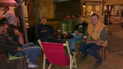 Nächtliche Lounge Ecke bei Piwo