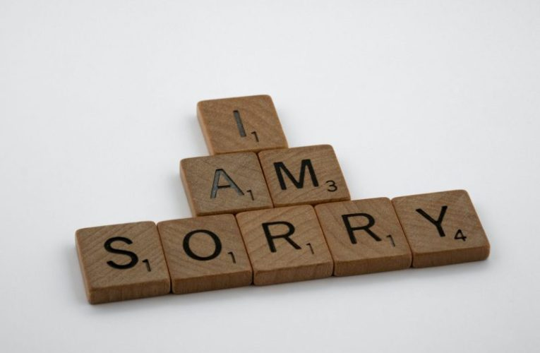 """換個角度說 """"對不起"""""""