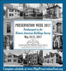 Newburyport Preservation Trust - Preservation Week