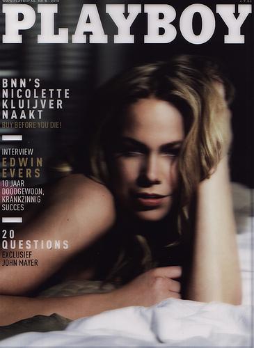 Nicolette Kluiver: de Playboy foto's