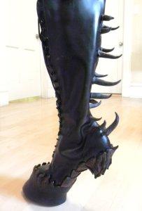 Hoeven: Fetish laarzen voor horseplay