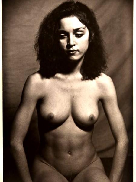 Naaktfoto's Madonna van lang lang geleden