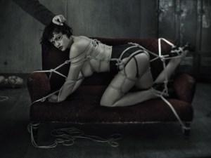Fetish model Tessa Kuragi