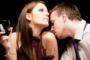 man-smelling-woman