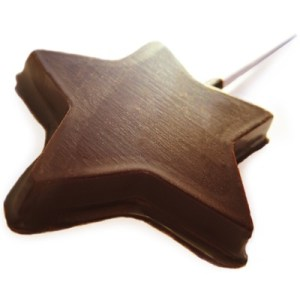 chocolate-star