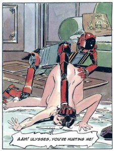 Strips voor volwassenen: Een persoonlijke huisrobot