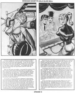 De bondage strips van Gene Bilbrew (Eneg)