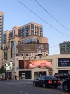 Goatse op een billboard