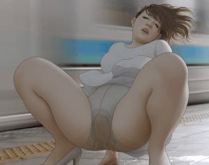 De plassende dames van Omorashi