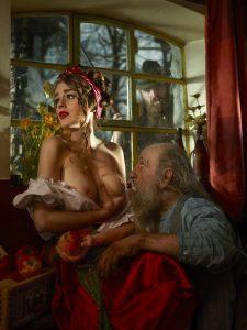 Gevangen in een sprookje – erotische fotografie van Bart Ramakers