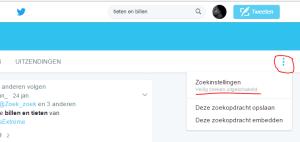 Twitter Safe Search – hoe zet je dat uit