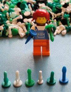 Buttplugs en dildo's voor LEGO minifigs?