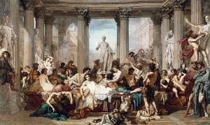 De geschiedenis van orgieën