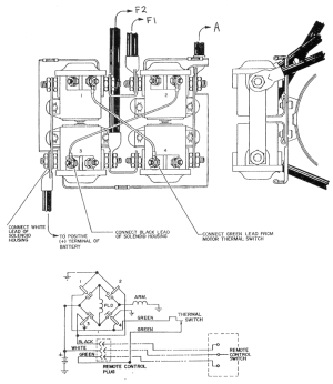 Warn winch Wiring diagrams | NC4x4