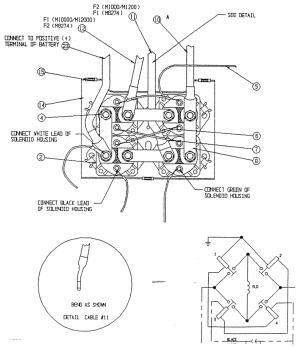 Warn winch Wiring diagrams | NC4x4