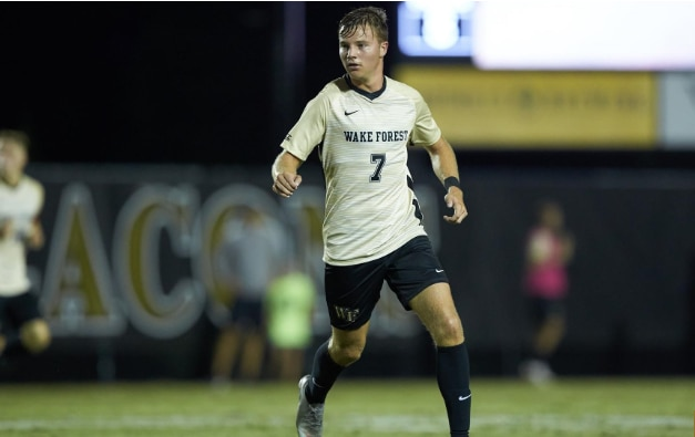 Wake Forest men's soccer is ranked No. 1.