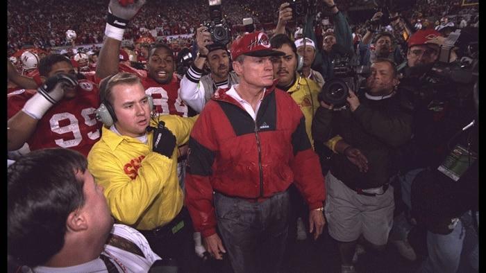 Nebraska won the title in 1995, beating Florida to finish No. 1.