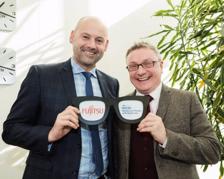 Fujitsu Ireland announces partnership with the National Council for the Blind