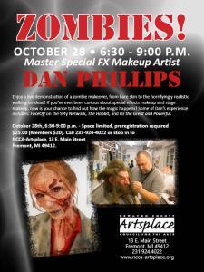 Zombie Demo Flyer