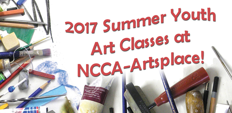 2017 Summer Youth Art Classes Are Out!
