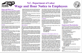 Example of Labor law posters