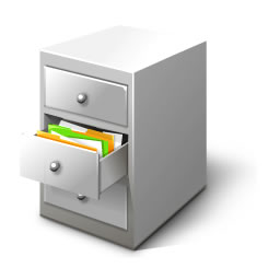 File cabinet, courtesy Wikimedia Commons