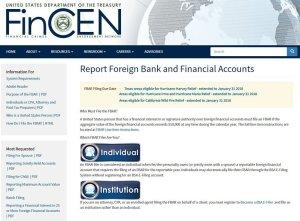 FinCen website