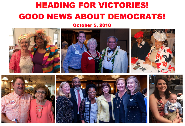 The Good News About Democrats — October 5, 2018