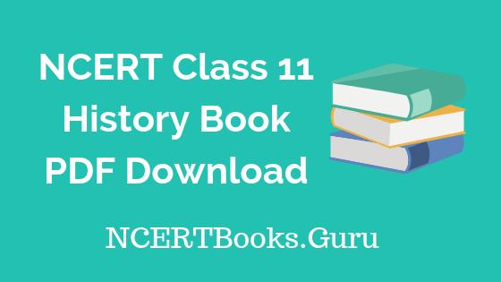 NCERT Class 11 History Books PDF Download