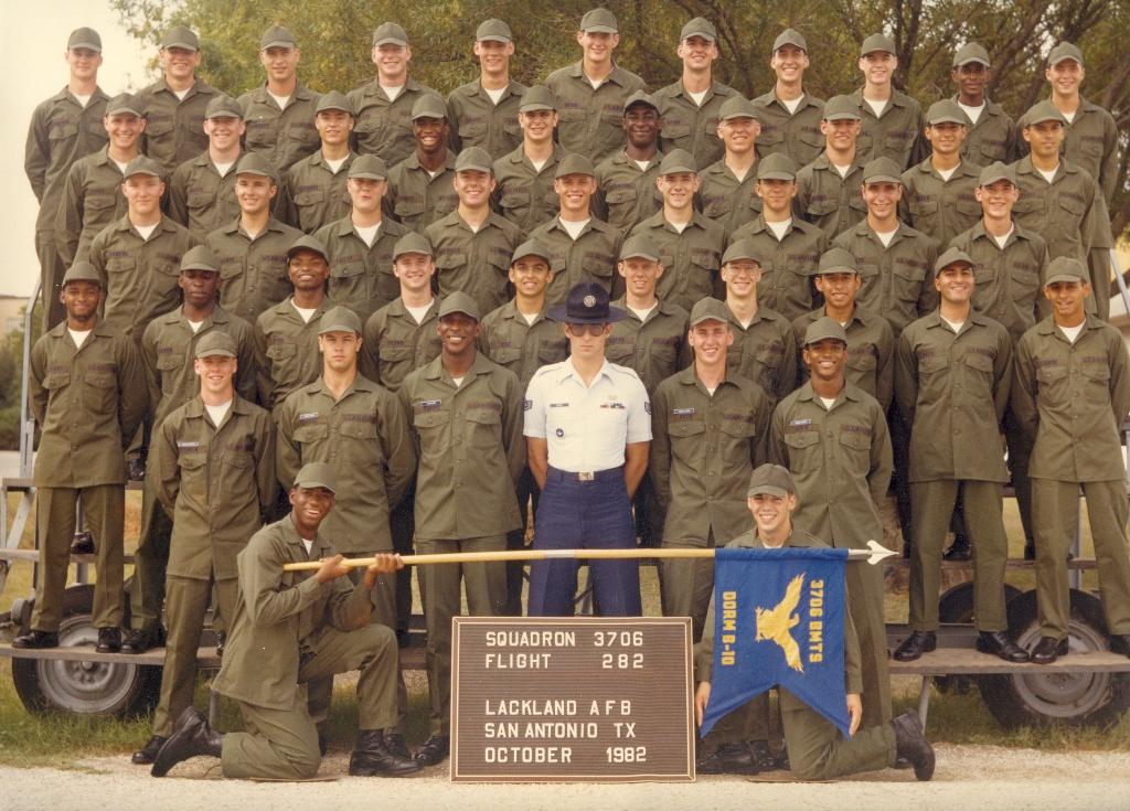 Air Force basic training 1982
