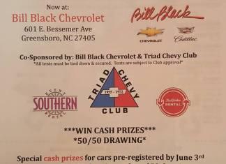 Triad Chevy Club 23rd Annual Hospice Benefit Car Show