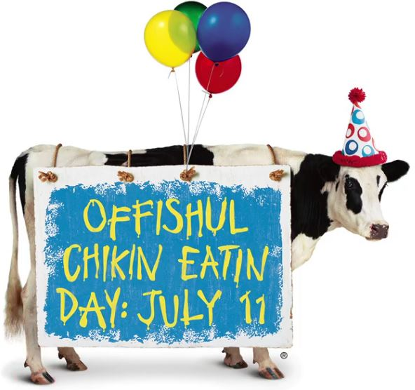 Chick-Fil-A Cow Appreciation Day