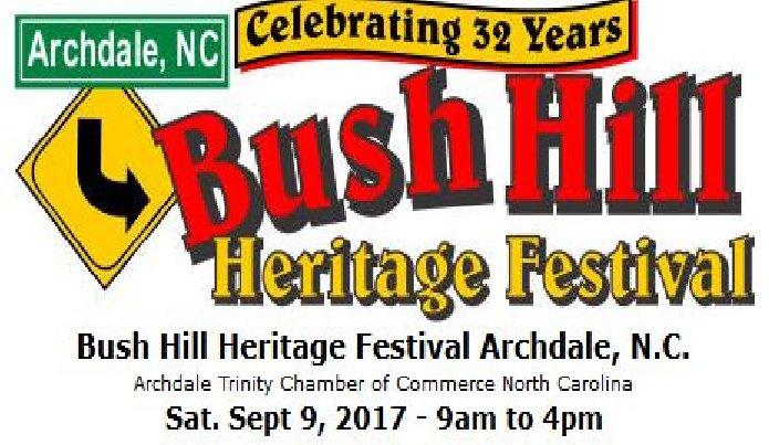 Archdale Bush Hill Festival 2017