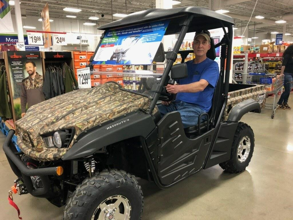 Taking a Test Ride at Sam's Club