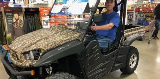 atv test ride at sams club