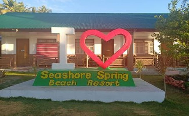 Seashore Spring Beach Resort on San Antonio Island Samar Philippines